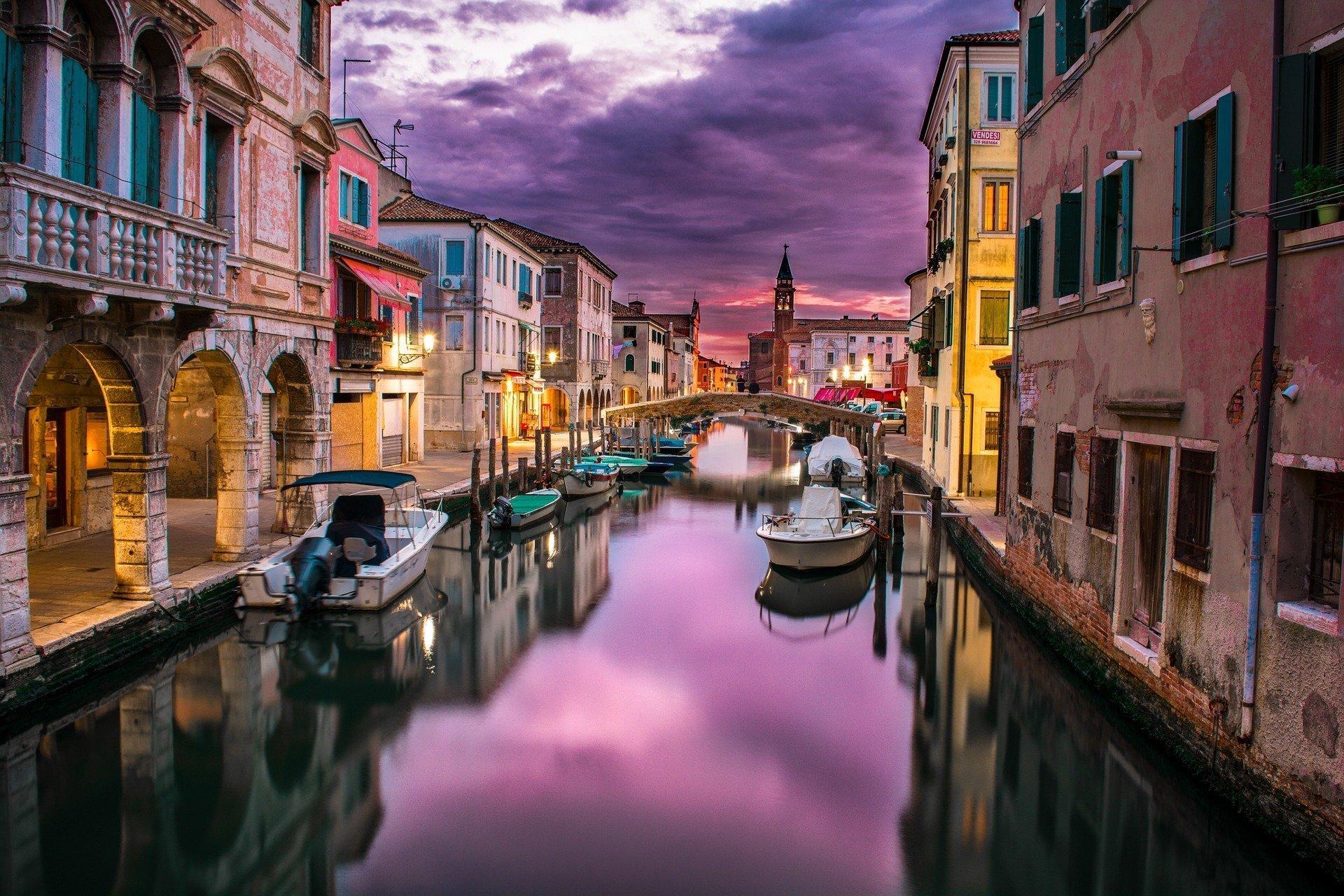 Venecija – grad na sred mora, inspiracija …