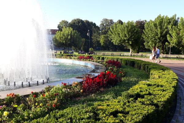 Srbija, Banja Koviljača - park